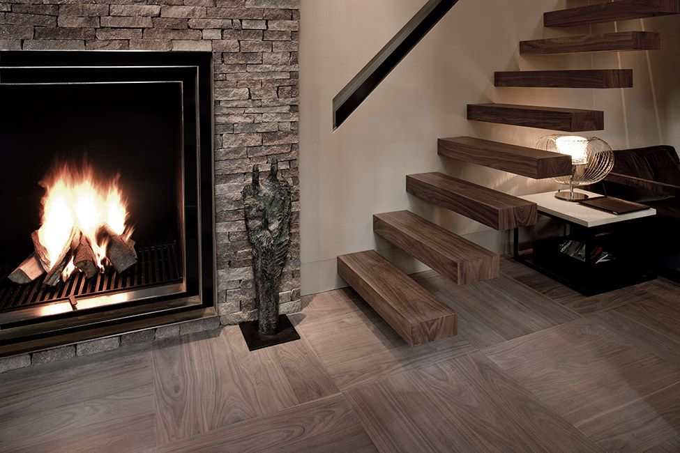 AMERICAN WALNUT on Ebony and Co Floor design, Staircase