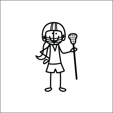 Lacrosse Quotes For Girls Lacrosse Girl Stick Figure Lacrosse Quotes Lacrosse Lacrosse Girls