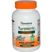 Himalaya Herbal Healthcare, Turmeric, 60 Veggie Capsules - iHerb.com