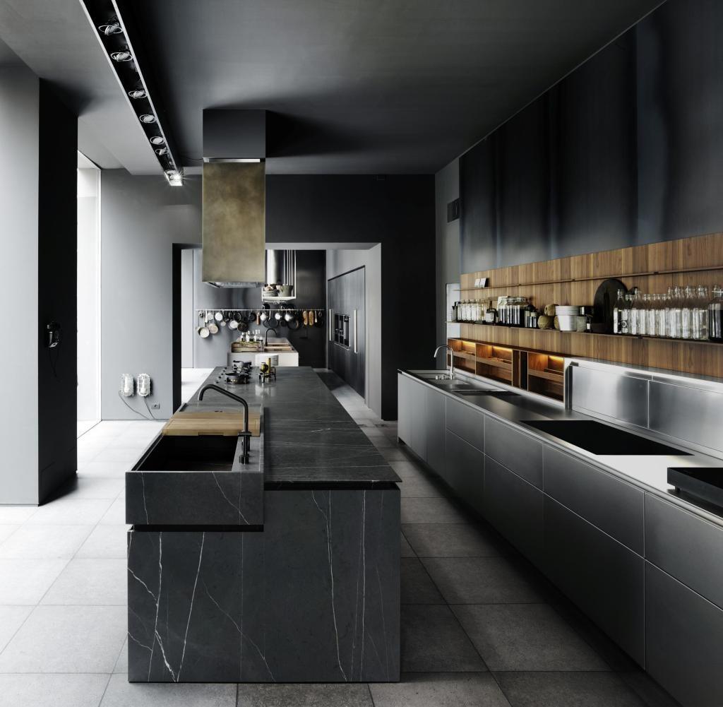 so sieht die k che der zukunft aus trends von der livingkitchen iconist zu besuch in. Black Bedroom Furniture Sets. Home Design Ideas
