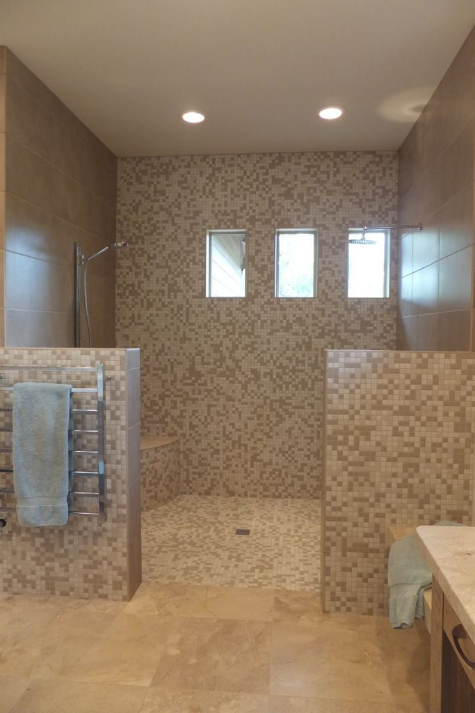 Locker Room Style Shower Designed By Board By Board
