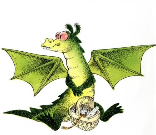 astrid lindgren draken med de röda ögonen