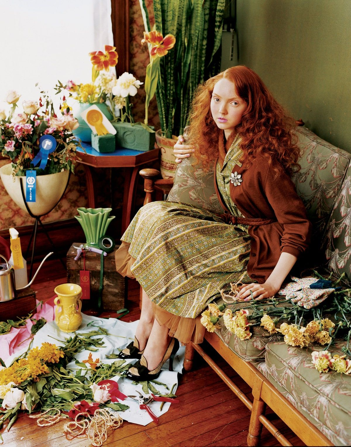 Flashback Friday: Lily Cole's Greatest Moments in Vogue