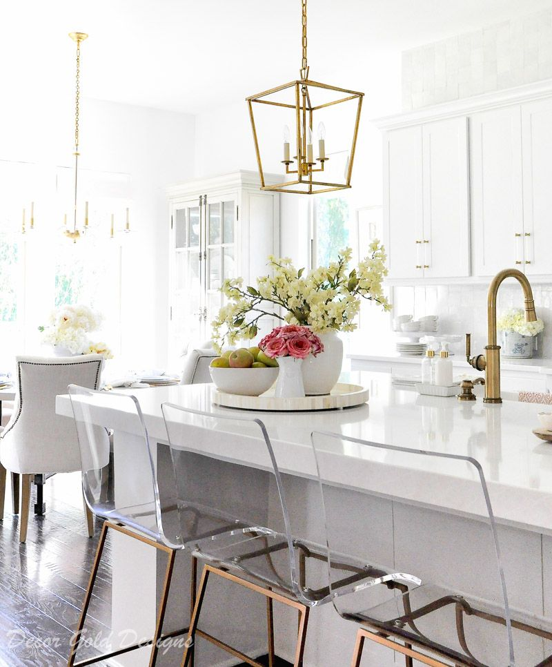 Ideas For Kitchen Counter Styling Decor Gold Designs Kitchen