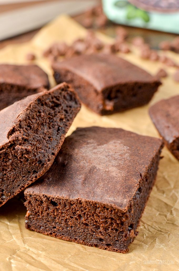 These are by far the best ever low syn chocolate brownies ...