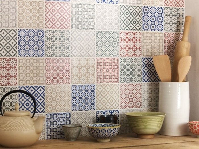 Portugiesische Kacheln Küche Pin By Little Mugbug On Home | Patchwork Kitchen, Kitchen ...