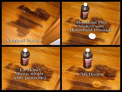 How Remove That Dark Stain From Your Hardwood Floor Easy Inexpensive Cleaning Wood Water
