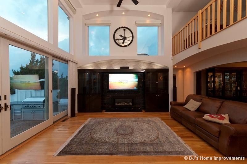 By Dj S Home Improvements Serving Nassau Suffolk County In Long Island Ny Living Room Photos Stylish Living Room Home
