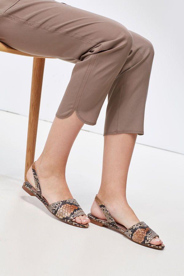 Cortefiel PiedraLooks Serpiente Zapatos Sandalia Mujer edWorxBQCE