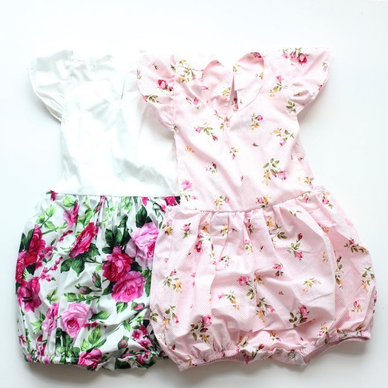 4148aba11d0 Emma s Vintage Floral Romper - Sleeve Length(cm)  Sleeveless - Closure Type
