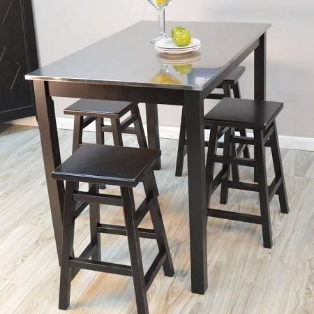 4 Seat Small Bar Height Table Set Google Search Bar Table