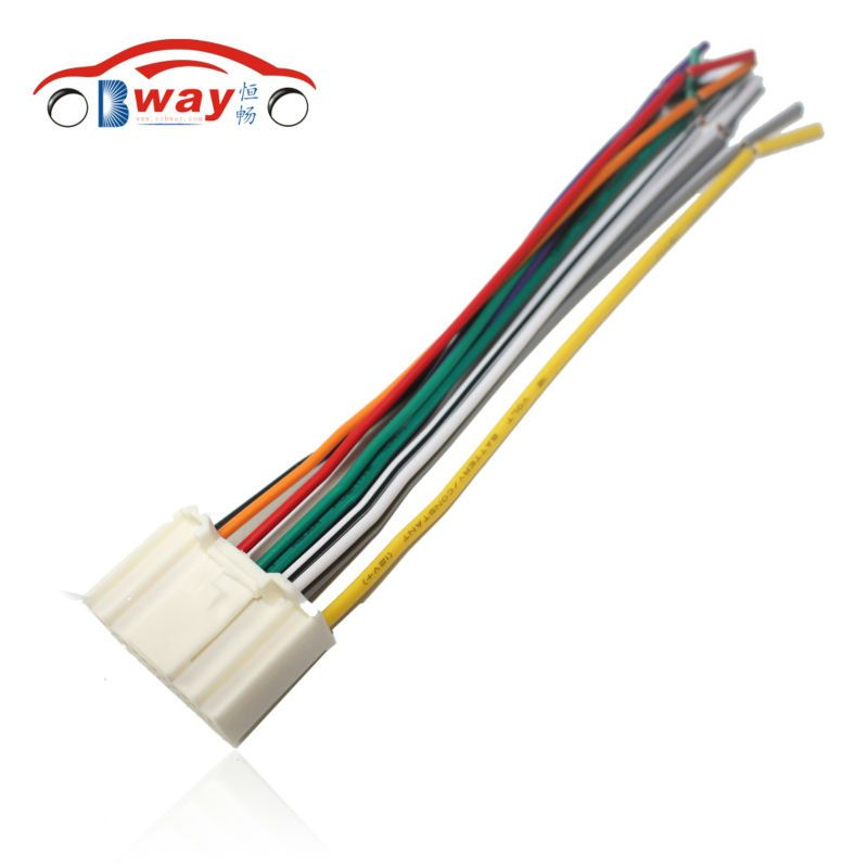Car Radio Stereo ISO Plug Power Adapter Wiring Harness for Nissan ...