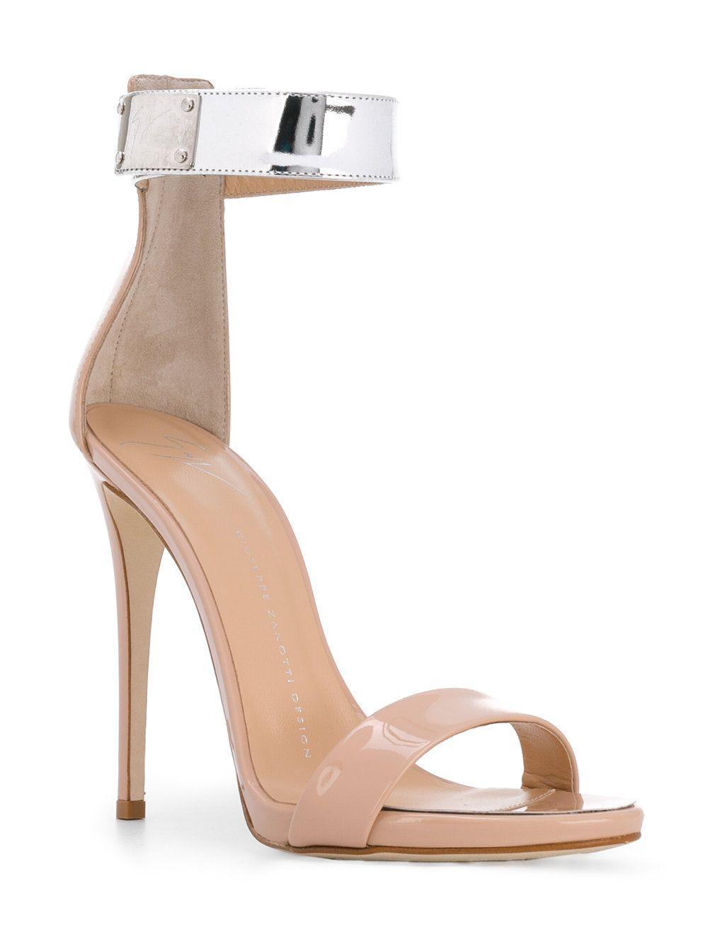 7f039dc440c14 Giuseppe Zanotti Design Cam Party Ankle Strap Sandals - Farfetch ...