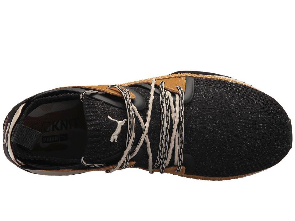 PUMA Tsugi Blaze evoKNIT Camo Men s Shoes PUMA Black Golden Brown ... 6413bf3cb