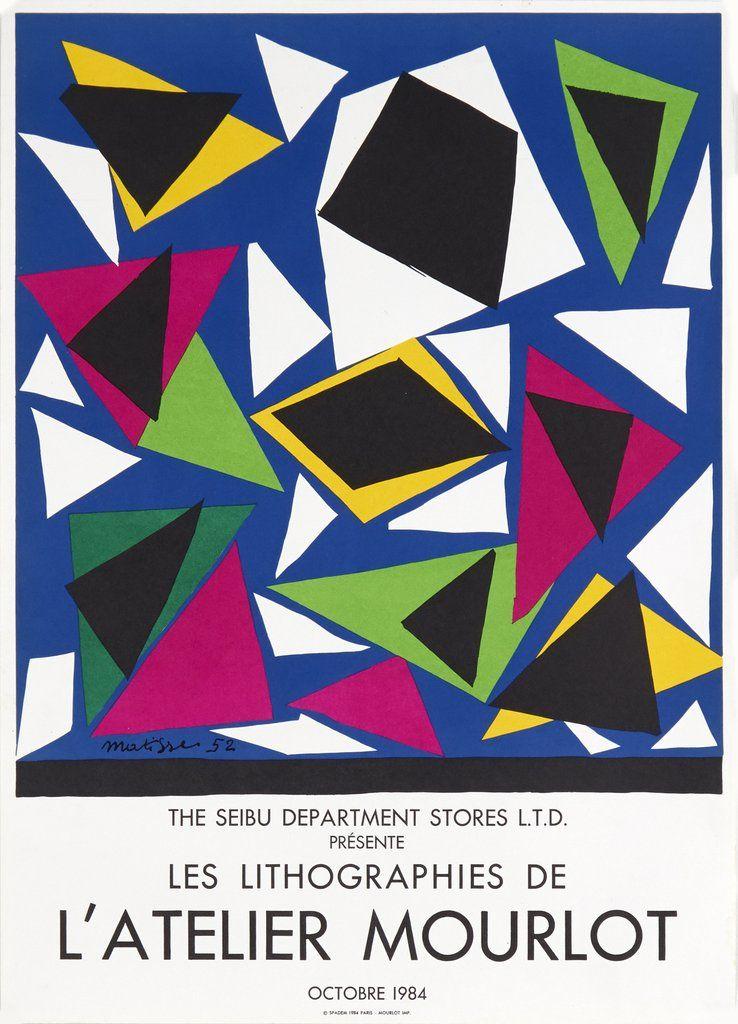 d80d9dfb231 Les Lithographies de L Atelier Mourlot by Henri Matisse