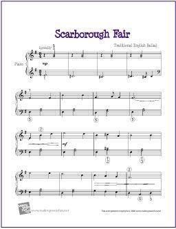 Scarborough Fair Musica