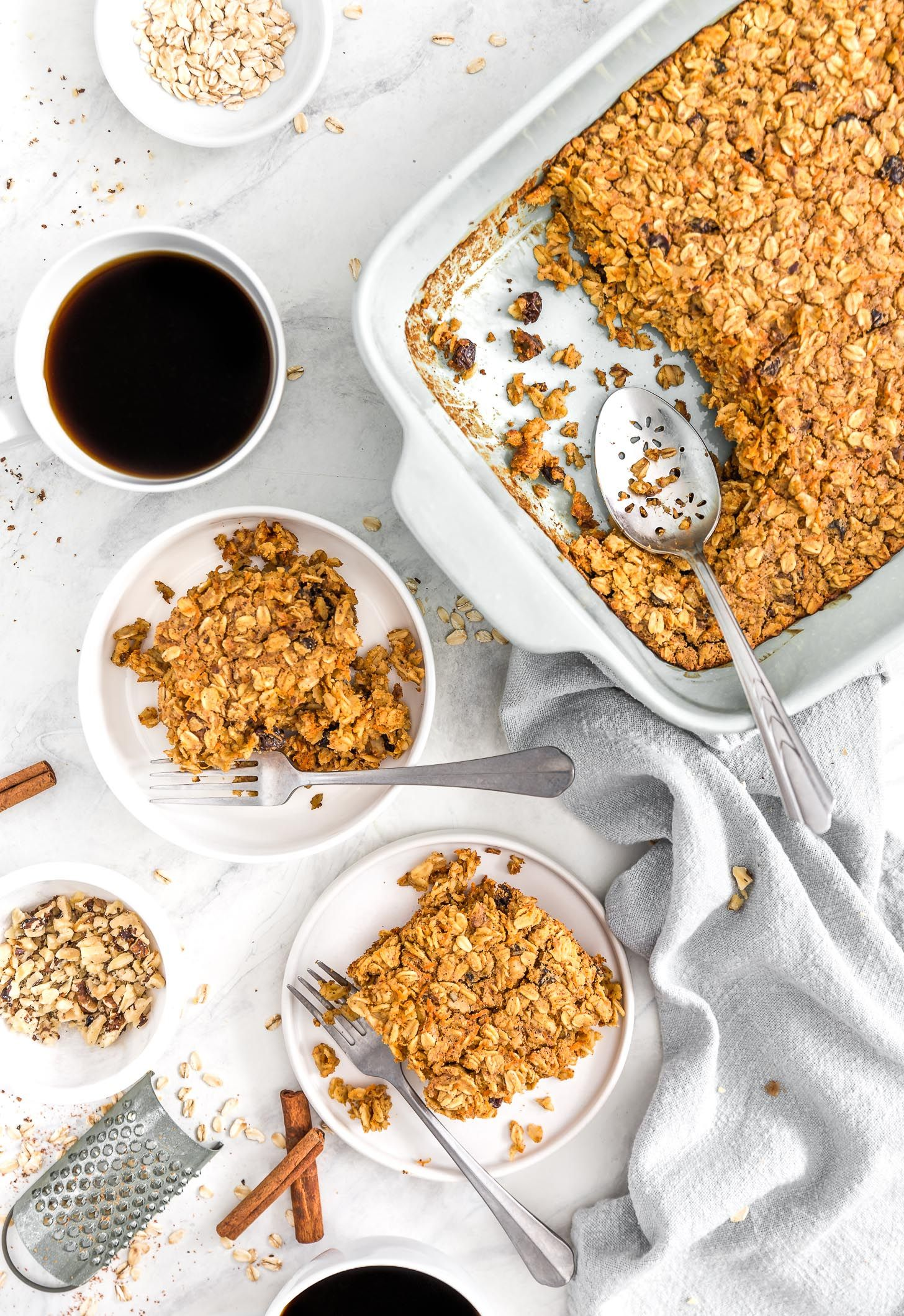 Carrot cake oatmeal breakfast bake recipe whole food