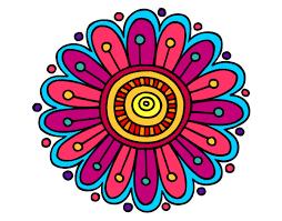 Resultado De Imagen Para Mandalas Pintados Simples Margaritas