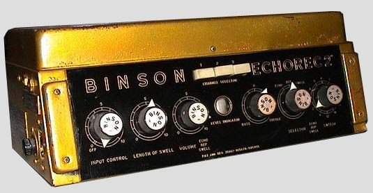 binson echorec david gilmour 1972 guitar pedals guitar pedals pedalboard music. Black Bedroom Furniture Sets. Home Design Ideas