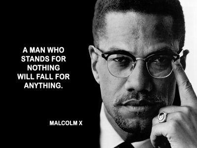 Malcolm X Poster Proverbes Et Citations Histoire Afro