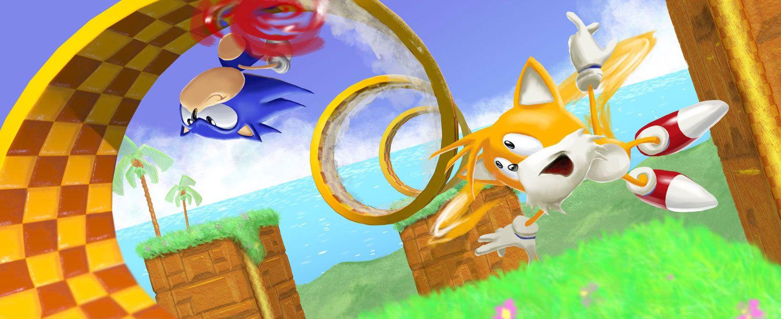 emerald hill zone Google Search Classic sonic, Sonic