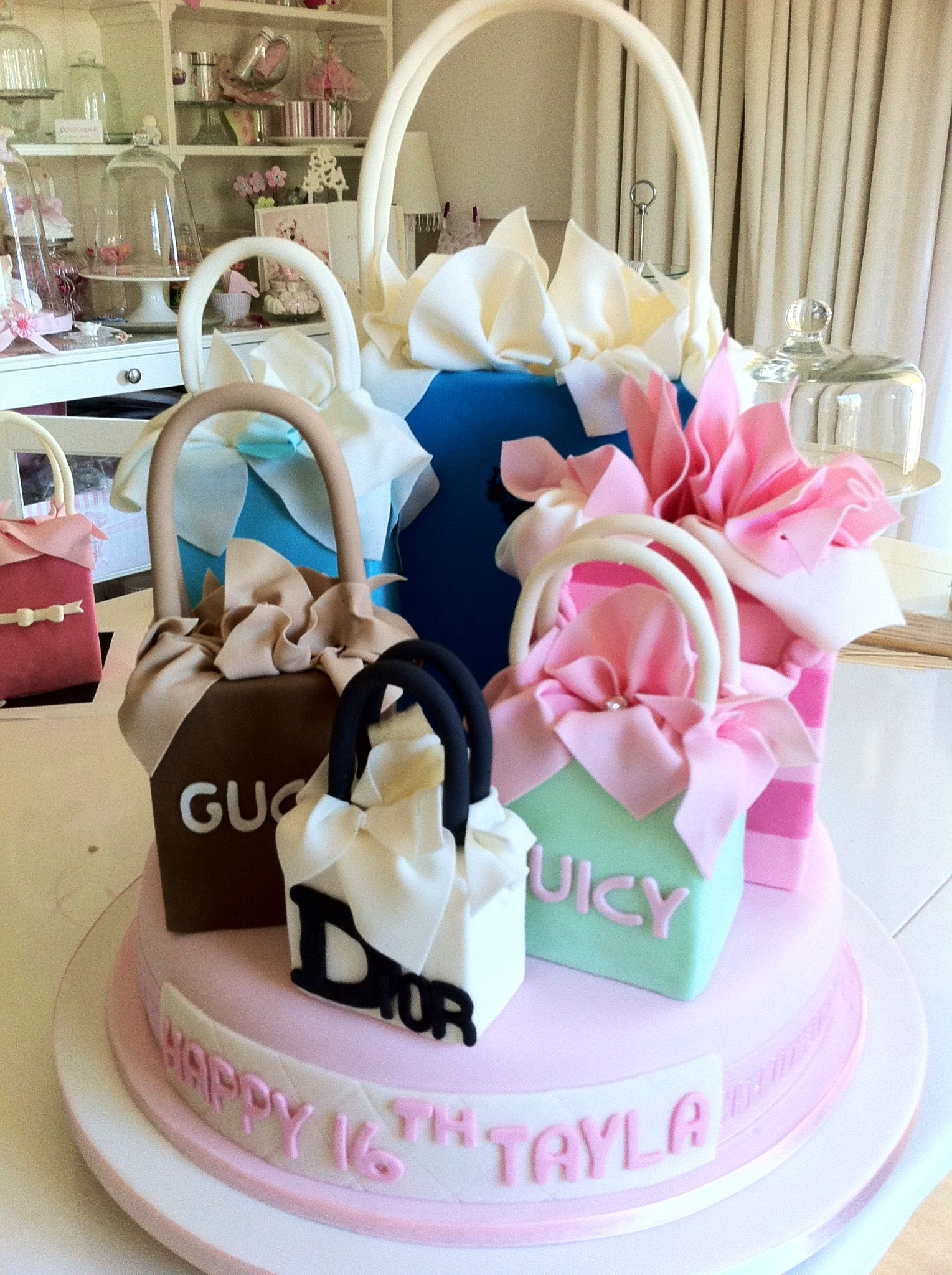 Gucci Dior Juicy Etc Clever Cake From Httpmedia Cache Ak0