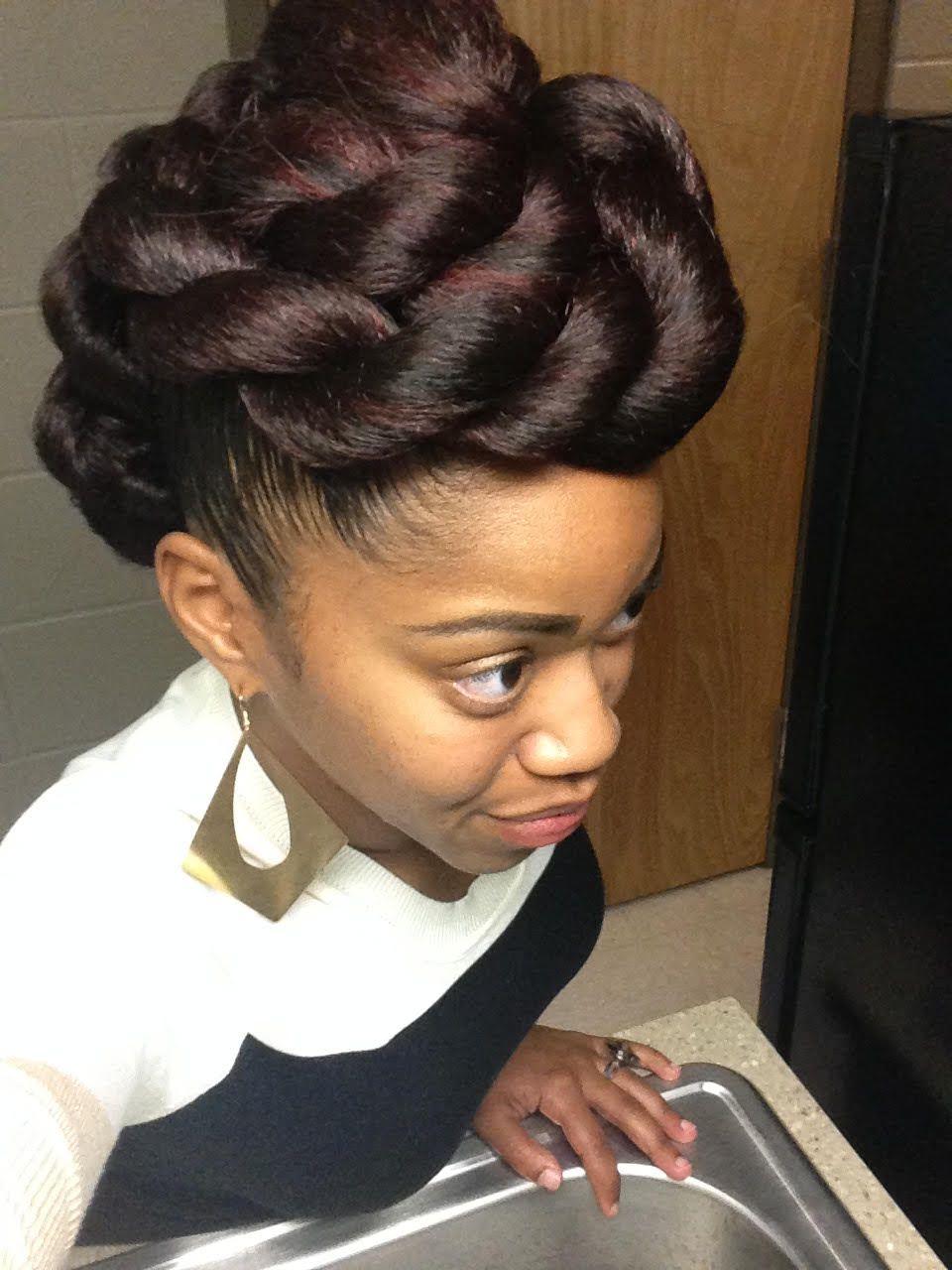 Chauntalia from Atlanta // 3C Natural Hair Style Icon #naturalhairupdo