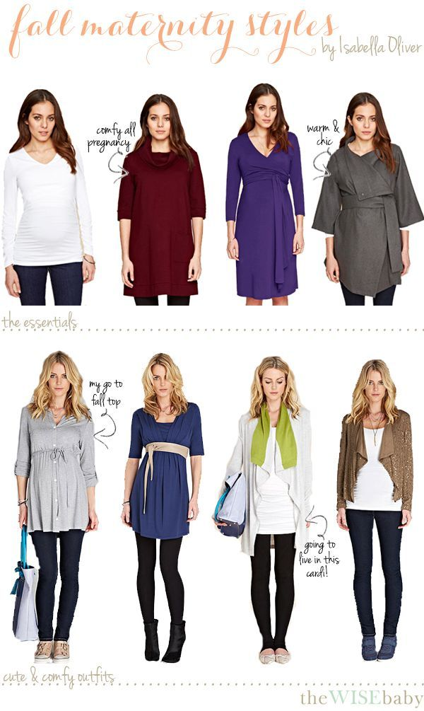 The First Installment In Our Virtual Baby Shower: Fashionable And Practical  Fall Maternity Clothes
