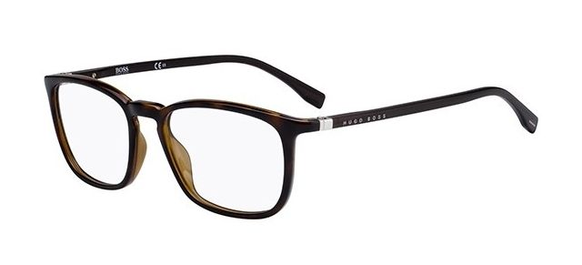 d1494a580f85 BOSS 0961 0086 Havana, Eyeglasses, Cat Eye, Boss, Glasses, Eye Glasses