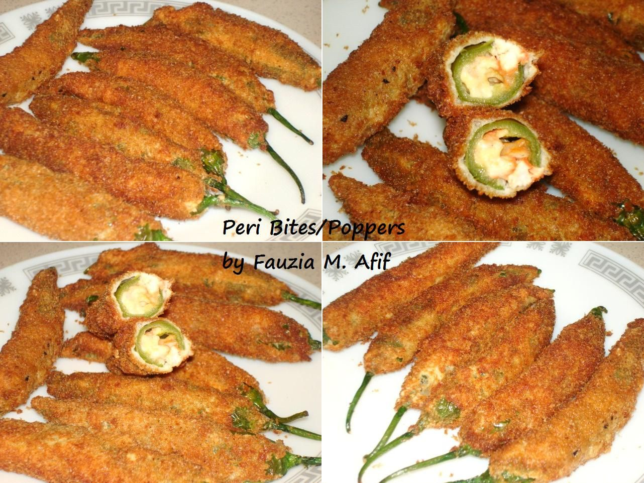Peri Bites Poppers Fauzia S Kitchen Fun Ing 10 14 Jalapenos Prepare The