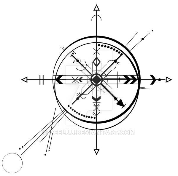 Compass Abstract By Veeluu Deviantart Com On Deviantart