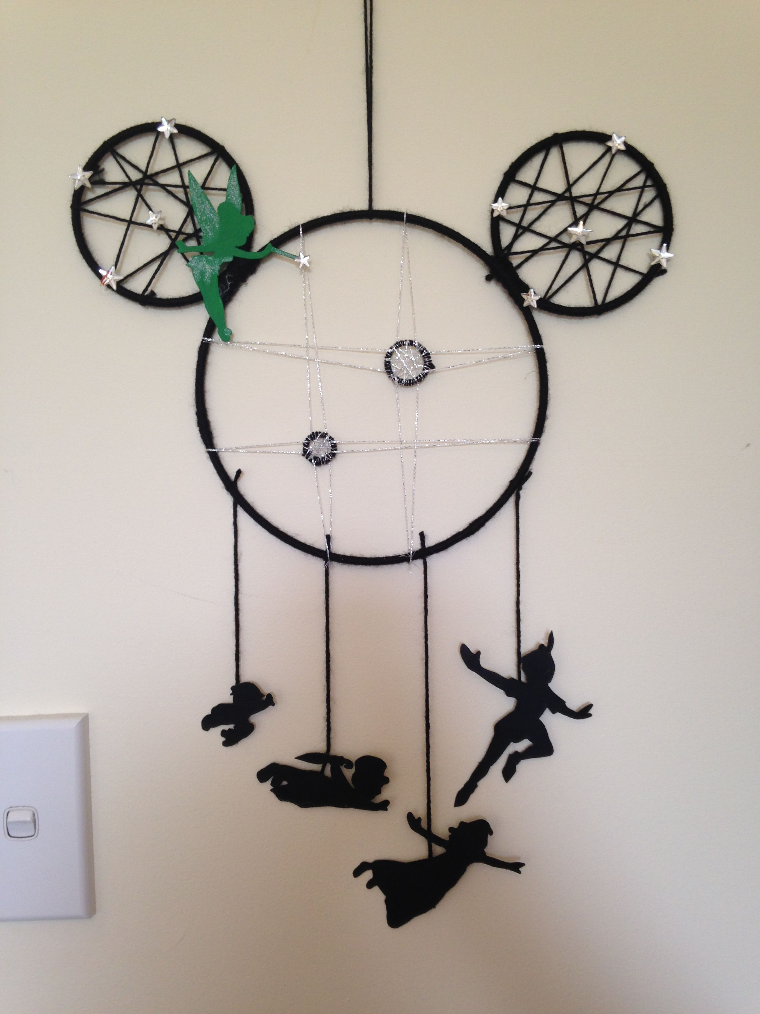 Second Star To The Right Disney Peter Pan Craft Dream Catcher Disney Diy Crafts Peter Pan Crafts Dream Catcher