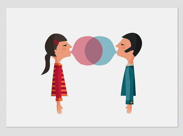 Illustration. Chewing love naive. $18.00, via Etsy. #spanishcraft