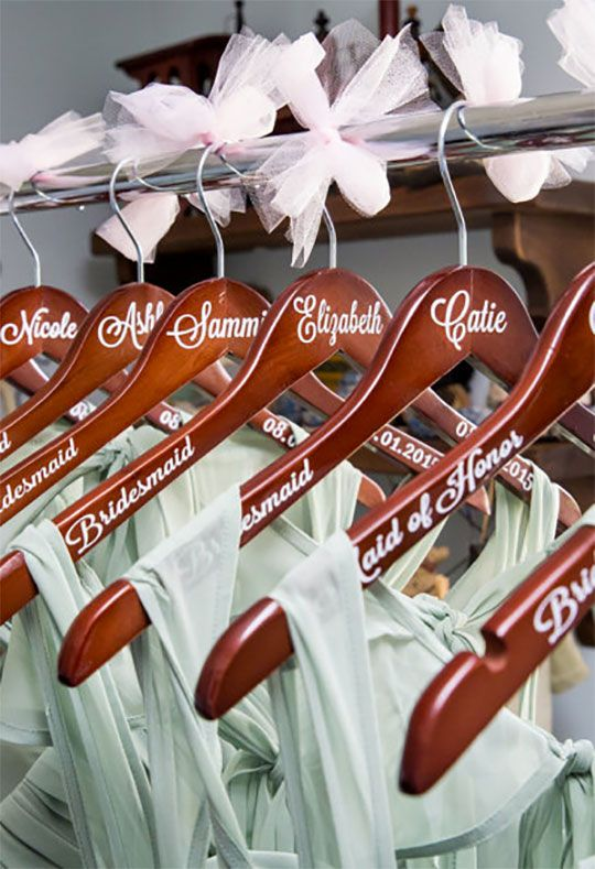 Wedding Party Gifts (Page 1 of 26) | Hanger, Elegant and Woods
