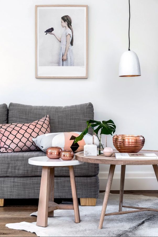 Gorgeous Space Greys And Rose Gold Loveleh Apartment Decor In