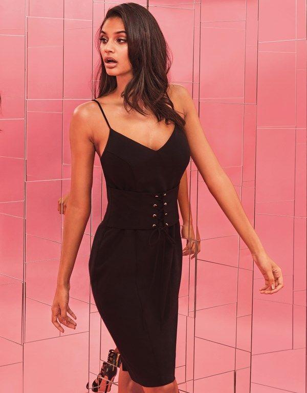 Lipsy Corset Cami Dress | fashion | Pinterest | Lipsy, Bodycon dress ...