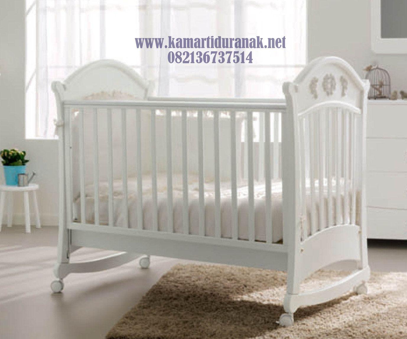 harga box bayi minimalis klasik terbaru 2017 kayu warna putih model ranjang