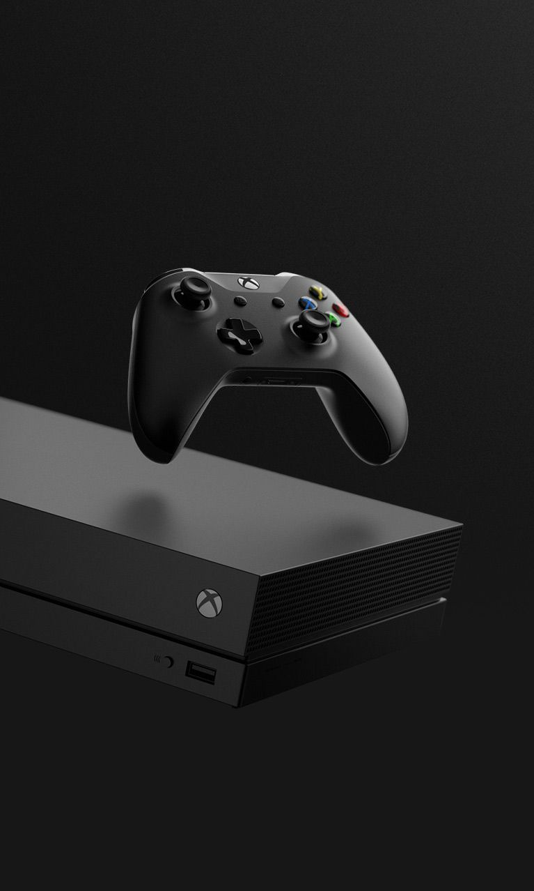 xbox one x damn what a beauty