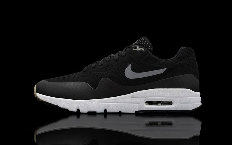 Wmns Nike Air Max 1 Ultra Moire Negro | Zapatillas