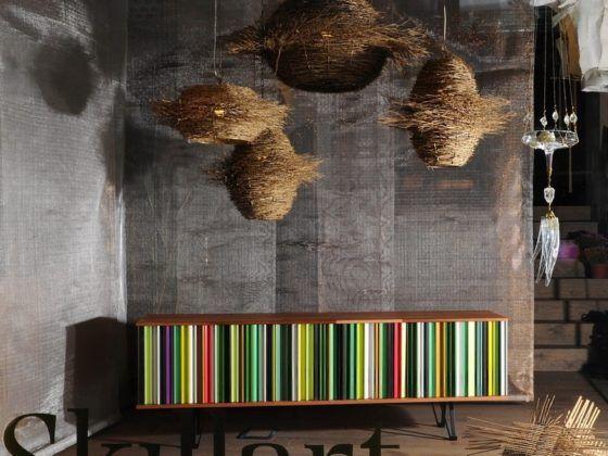 Pannelli realizzati con tessuti metallici Rossi tessiture metalliche