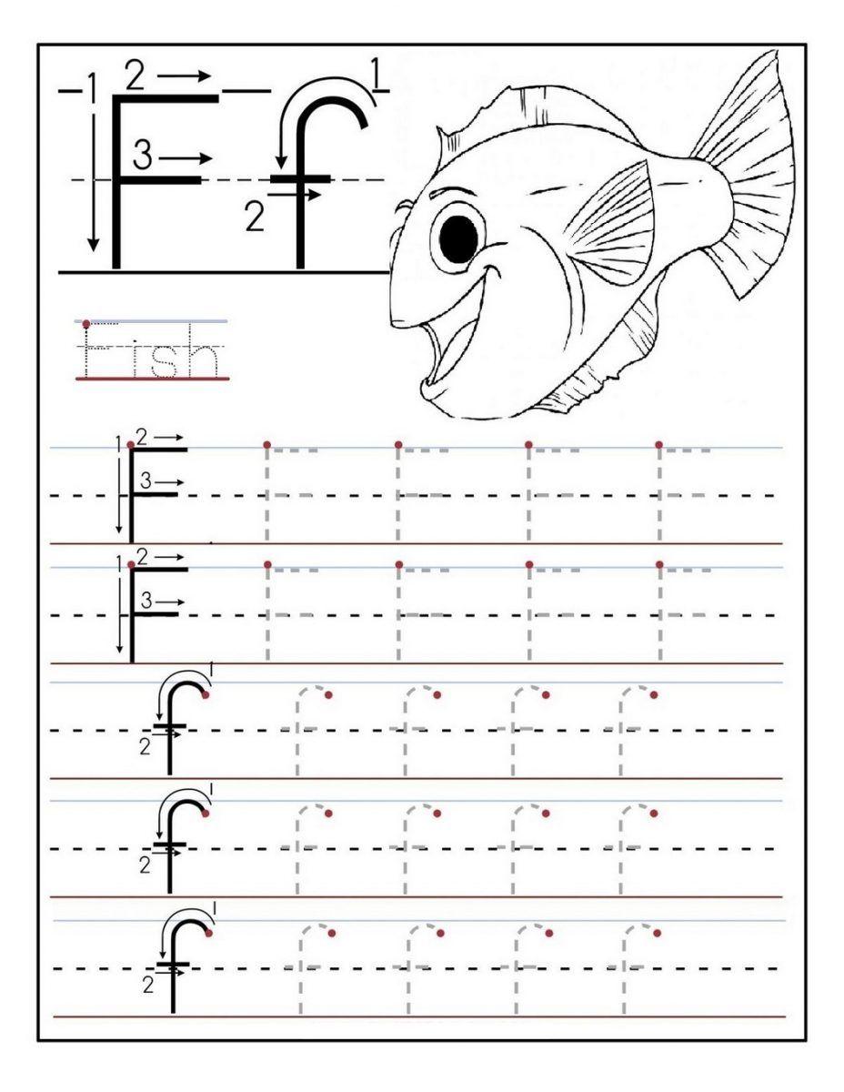 Letter F Worksheet Activities Alphabet Worksheets Preschool Preschool Letters Tracing Worksheets Preschool [ 1200 x 928 Pixel ]