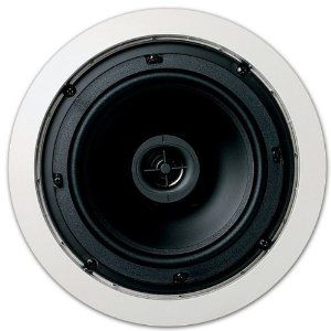 """Jamo 6.5CS In Ceiling Surround Sound Home Theater Round 6.5"""" Speaker Pair by Jamo. $62.44. Specifications1 New Pair of Jamo 6.5CS In Ceiling Speakers.5 inch Mylar tweeter6.5 inch moisture resistant Polypropylene wooferPivoting tweeterIdeal for background or ambient musicPaintable grillesThis Listing and Price is for 1 Pair / 2 Speakers"""
