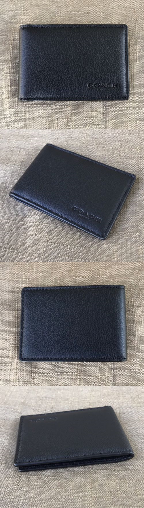 Business and credit card cases 105860 new coach men s sport calf business and credit card cases 105860 new coach men s sport calf leather slim card reheart Image collections