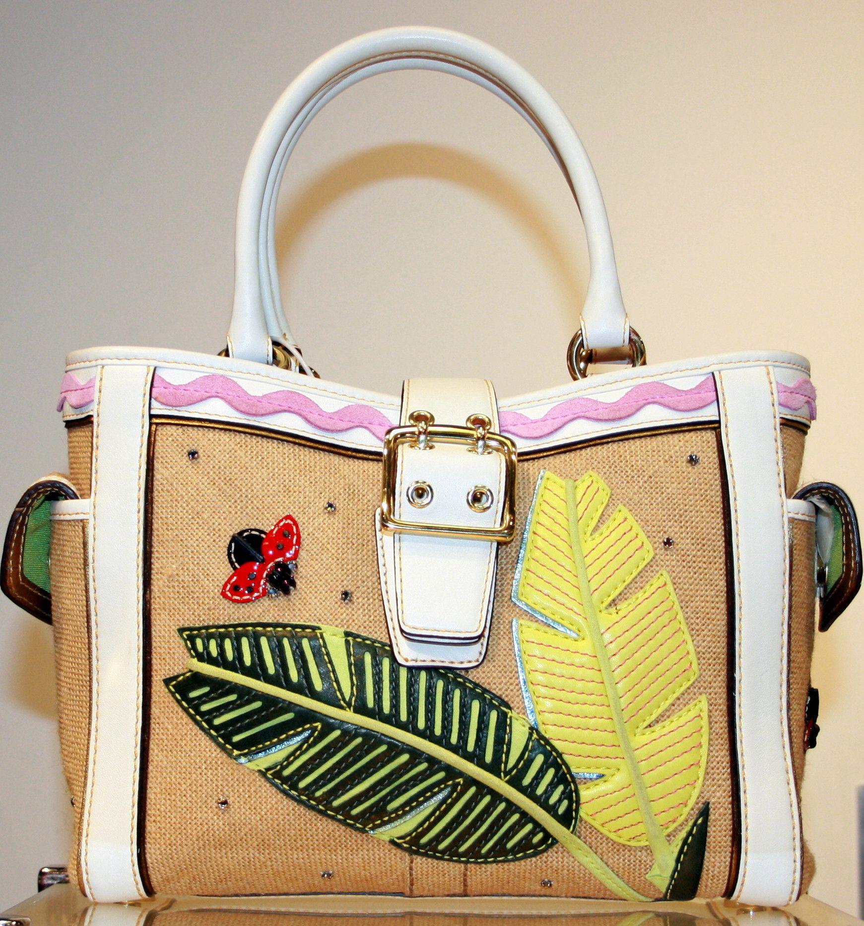 Fun And Fresh Coach Ladybug Handbag 125