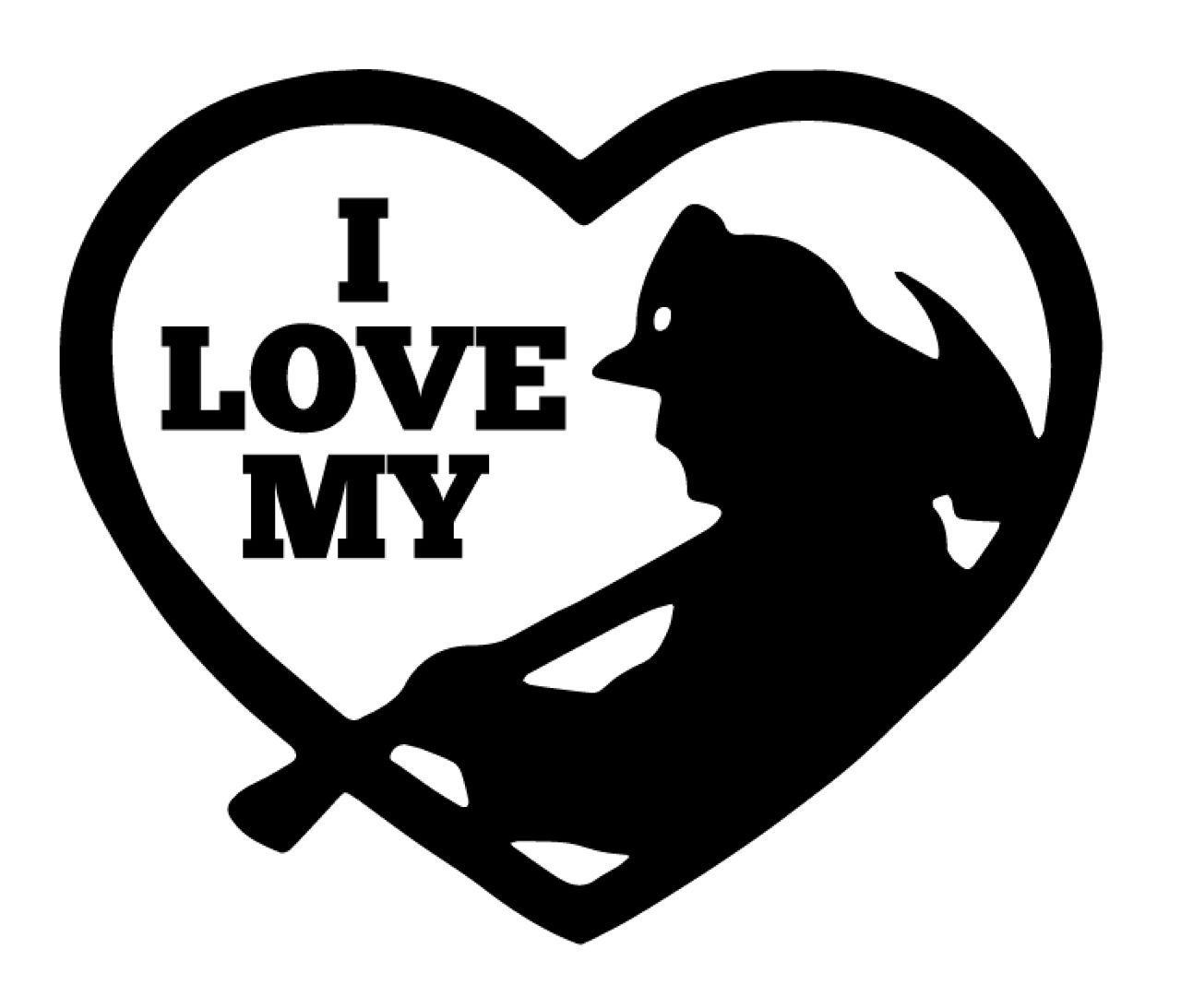 Download I Love My FireFighter Heart   Firefighter decals, Vinyl ...