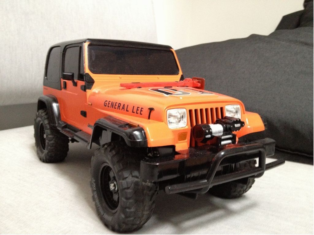 Tamiya Jeep Wrangler. The General Lee | Jeep Stuff | Pinterest ...