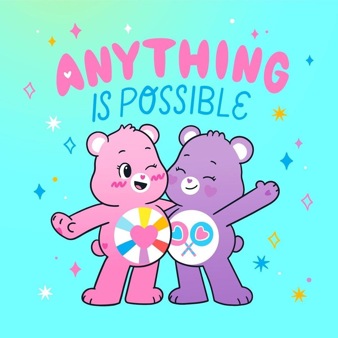 """Care Bears™ on Instagram: """"Anything is possible! ☁"""