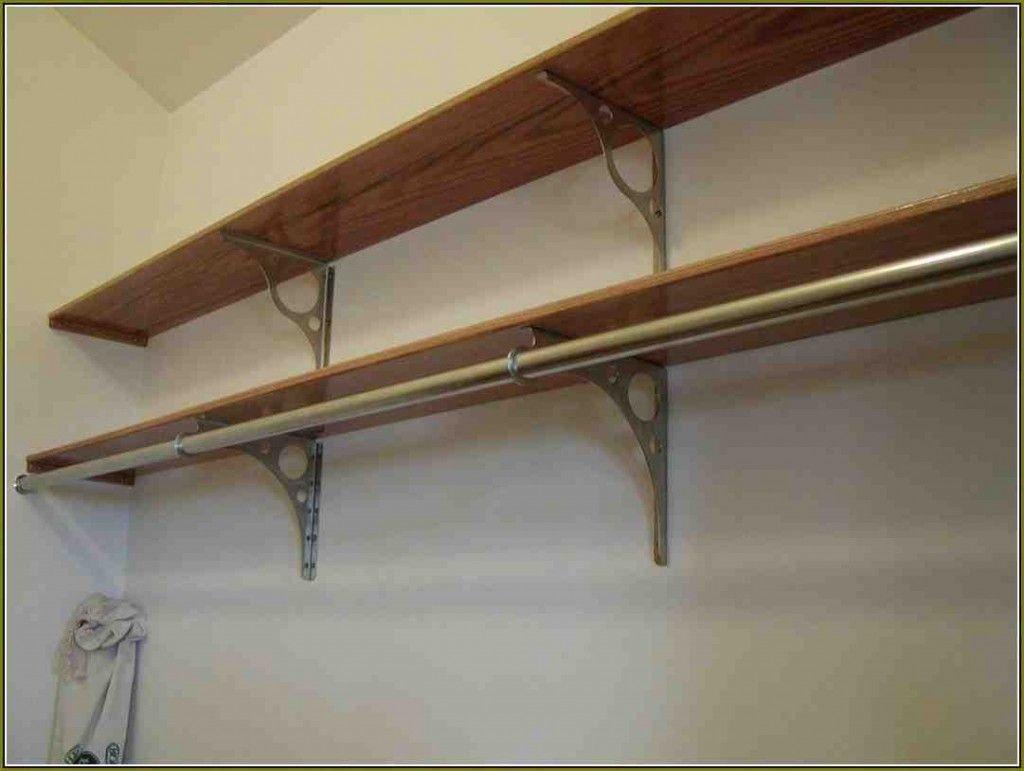 Closet Rods And Shelves Closet Shelves Wooden Closet Closet Rods