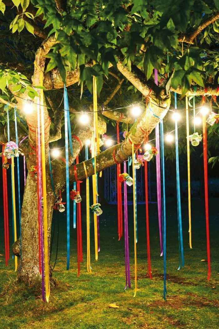 30 Party Deko Ideen im Sommerstil - Den kommenden Sommer mit einer Gartenparty begrüßen #gartendekoideen