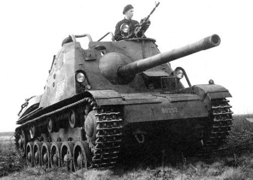 Pvkv m/43 Swedish Tank Destroyer.